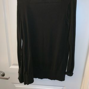 Mossimo Supply Co. Sweaters - Black Open Cardigan